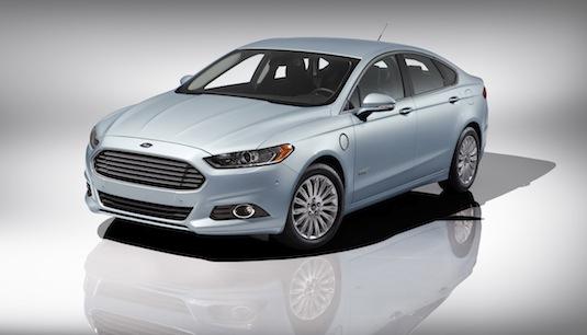 auto plug-in hybrid Ford Fusion Energi plug-in hybrid 2013
