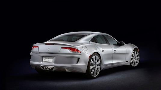 auto VL Automotive Destino - Fisker Karma autosalon Detroit