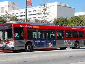 auto americký autobus LACMTA
