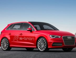 auto Audi A3 E-tron Autosalon Ženeva