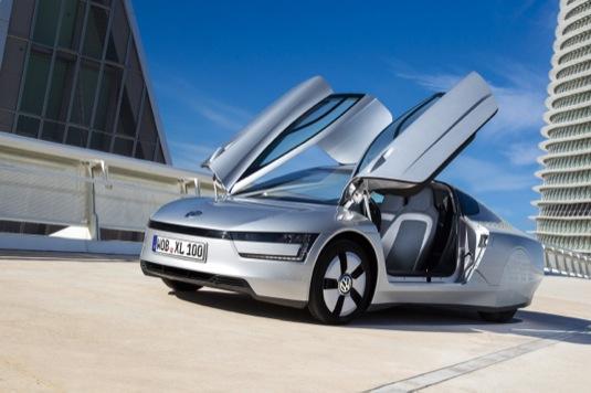 auto diesel-plug-in hybrid Volkswagen XL1