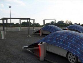 auto Hakan Gursu solární stan potam elektromobily V-Tent