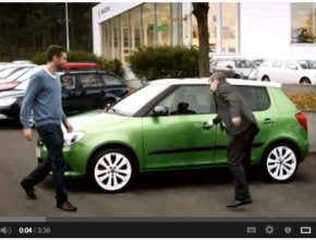 reklama video Škoda Auto Fabia nový spot prodej aut leden 2013