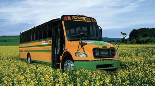 auto hybridní školní autobusy