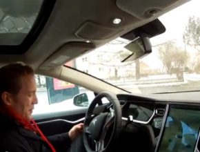 Tesla Model S test NGM eAuto Mnichov Německo Evropa