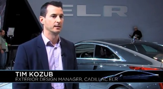 Tim Kozub Cadillac ELR plug-in hybrid