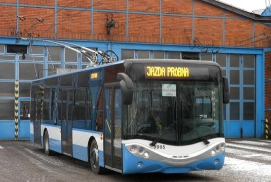 trolejbus AMZ City Smile - Ostrava
