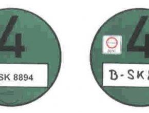 Umweltplakette - německé známky pro vjezd do nízkoemisních zón