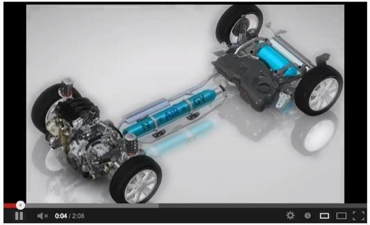 auto video Citroen Hybrid Air