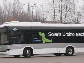 auto Solar Urbino Electric 8.9 LE u Veolia Transport Praha