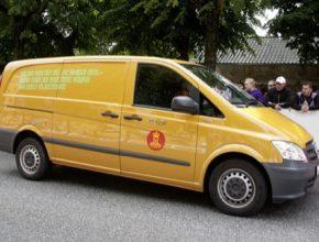 Dánská pošta objednává 50 elektrických dodávek Mercedes-Benz Vito E-Cell