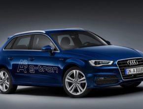 auto Audi A3 Sportback g-tron auto na plyn CNG syntetický zemní plyn