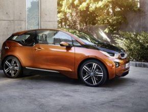 auto BMW i3 elektromobil sériový hybrid range extender