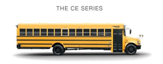 auto hybridní autobus pro americké školy