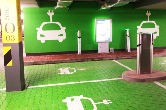 auto Centrum Černý most dobíjecí stanice pro elektromobily PRE