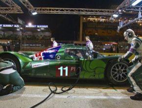 auto závodní elektromobil Drayson Racing Technologies pit