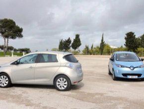 auto elektromobil Renault Zoe test Portugalsko