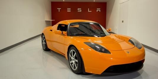 auto ojetý elektromobil Tesla Roadster nabídka