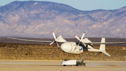 Phantom Eye, vodíkový bezpilotní letoun společnosti Boeing
