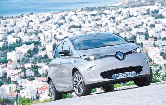 auto Renault Zoe elektromobil cena specifikace dostupnost
