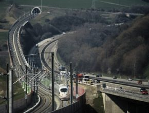 auto Siemens železnice vysokorychlostní železniční trati