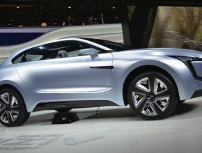 auto Subaru VIZIV diesel plug-in hybrid koncept