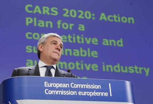 auto Tajani CARS 2020 EU Plán mobilita automobilový průmysl