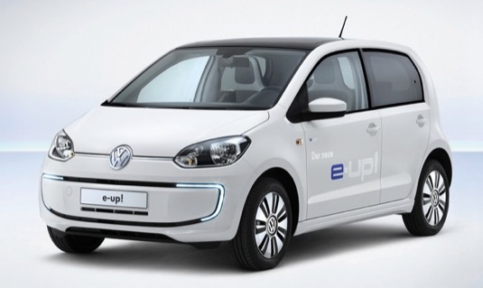 auto elektromobil Volkswagen e-Up! Wolfsburg