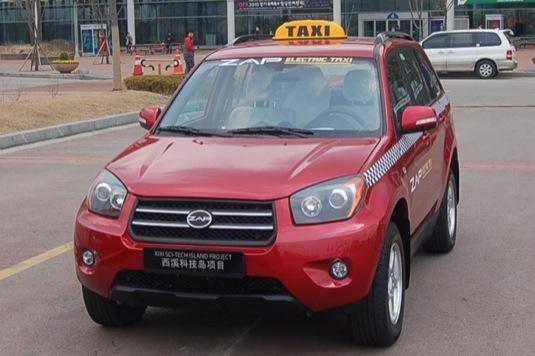 auto ZAP Jonway elektrické taxi CNG CN 380 SUV