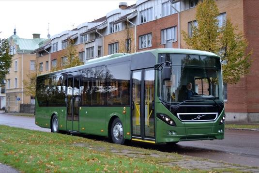 auto Volvo 8900 hybridní autobus pro Francii