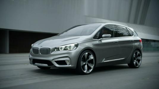 auto BMW Concept Active Tourer plug-in hybrid