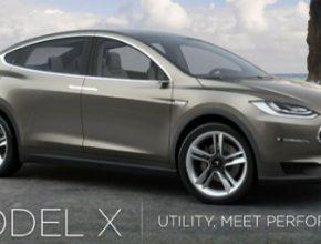 auto Tesla Model X 2014 konec