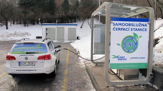 CNG stanice Písek