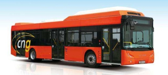 auto CNG autobus na zemní plyn Tedom