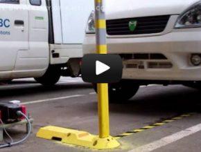 auto elektromobil bezdrátové dobíjení
