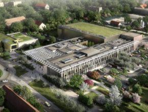 auto laserové centrum ELI Beamlines Dolní Břežany