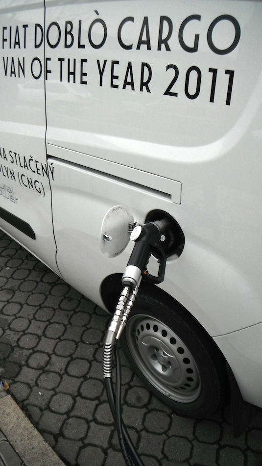 auto Fiat Doblo CNG GLS test
