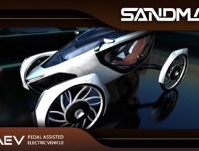 auto Sandman velomobil