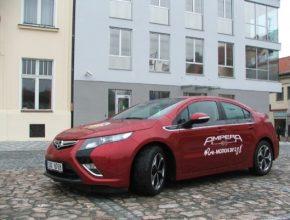 auto test Opel Ampera plug-in hybrid Tallin - Monte Carlo