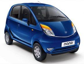 auto Tata Nano 2013 blue