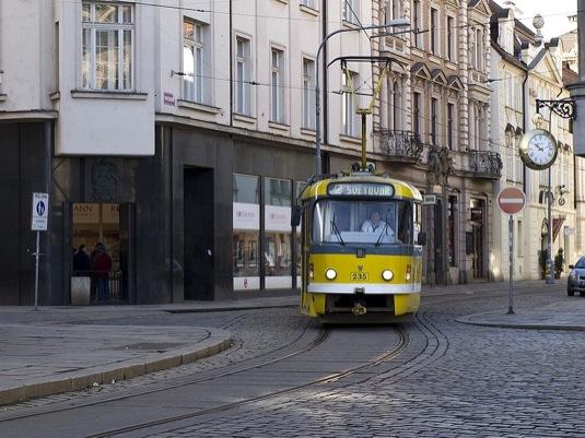 tramvaj v Plzni