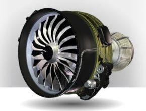 letecký motor LEAP