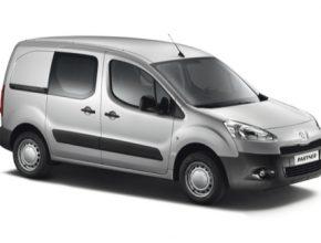 auto Peugeot Partner Electric elektrická dodávka užitkové elektrické auto