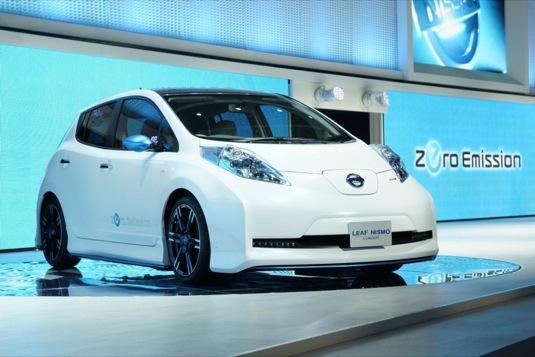 auto Nissan Leaf NISMO koncept