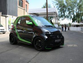 auto Smart Fortwo podle Brabusu