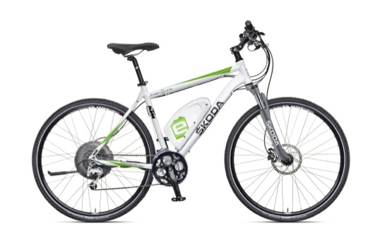 auto Škoda Bike 2013 Green E Line elektroko