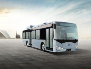 auto elektrické autobusy BYD