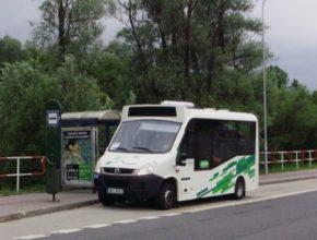 auto elektrobus Stratos v Havířove u Tesca