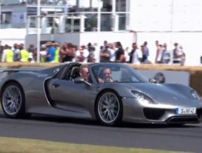 auto Goodwood Festival of Speed plug-in hybrid Porsche 918 Spyder