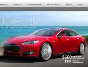 auto Tesla Model S elektromobil elektrické auto